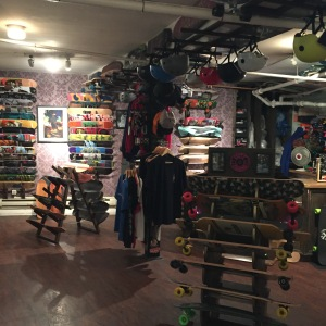 Uncle Funky's Boards on 128 Charles Street in NYC